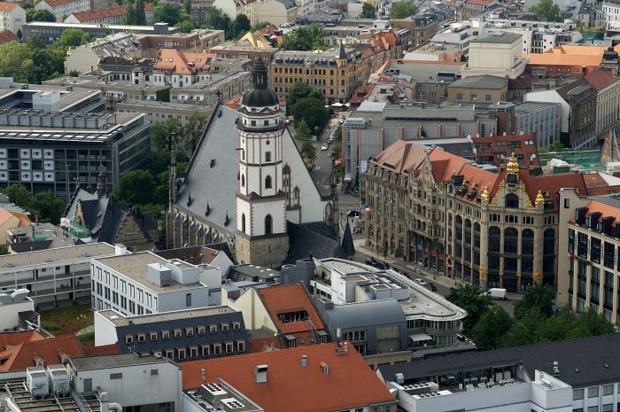 Leipzig_Thomaskirche_von_oben
