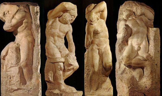 Michelangelo_Slaves_Prisoner_Prigioni_Florence_Italy