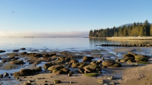 English Bay, Stanley Park, Vancouver, Canada. 2 January 2016. Photo: Hendrik Slegtenhorst