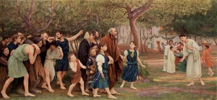 eugene burnand 1899