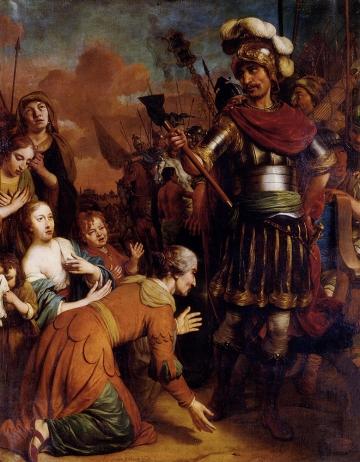 Vol pleading with her son C www.fineartlib.info Gebrand van der Eeckhout 1621 1674