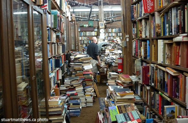Macleod's Used & Rare Books, West Pender Street, Vancouver