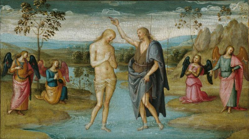 Perugino: The Baptism of Christ (1500/05)