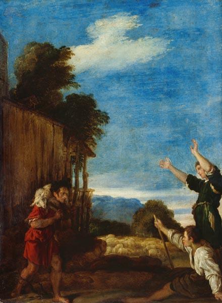 Domenico Fetti Parable of the Lost Sheep 1619