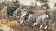 Pieter Bruegel the Elder: The Blind Leading the Blind (1568)