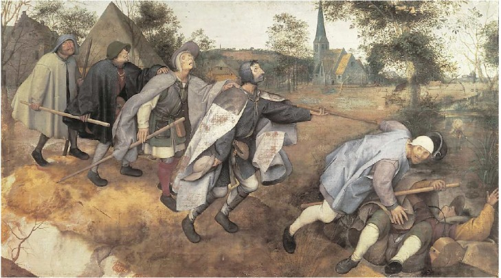 Pieter Bruegel the Elder: The Blind Leading the Blind (1568)
