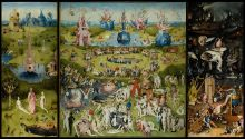 Hieronymus Bosch: The Garden of Earthly Delights (c. 1500)