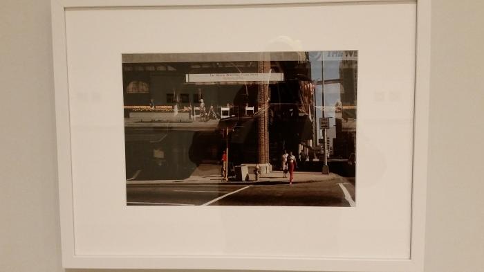 Harry Callahan, Peachtree Hotel, Atlanta, 1984, at Vancouver Art Gallery (Photo: Hendrik Slegtenhorst)