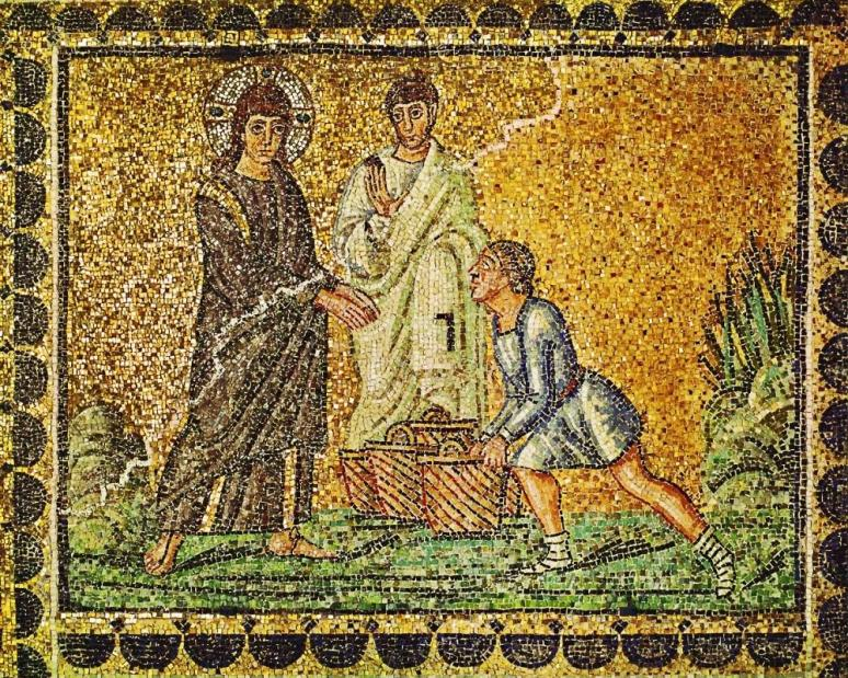 unknown-artist-the-miracle-of-the-loaves-and-fishes-2-basilica-di-santapollinare-nuovo-ravenna-italy-6th-century