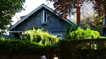 The house I once lived in. Barclay St, West End, Vancouver