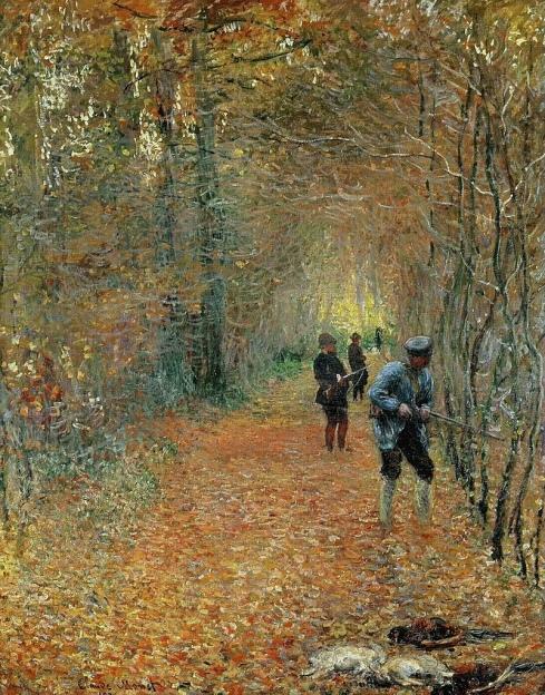 Claude Monet: La Chasse (1876)