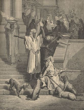Gustave Doré: Parable of Lazarus and the Rich Man (1882)