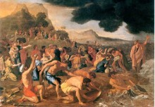 Nicolas Poussin: The Crossing of the Red Sea (1634)