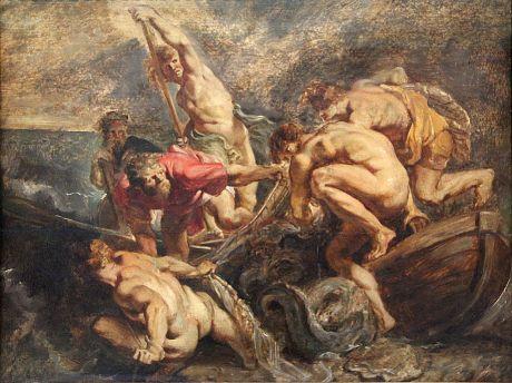 Peter Paul Rubens : The Miraculous Draught of Fish (1610)