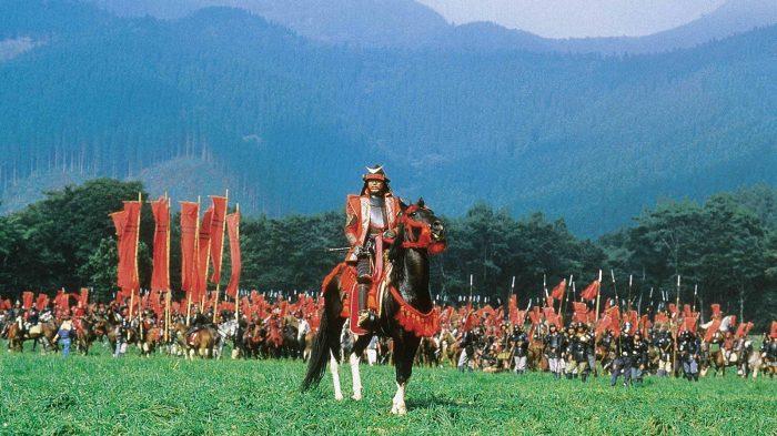 Akira Kurosawa : Ran. Battle scene.