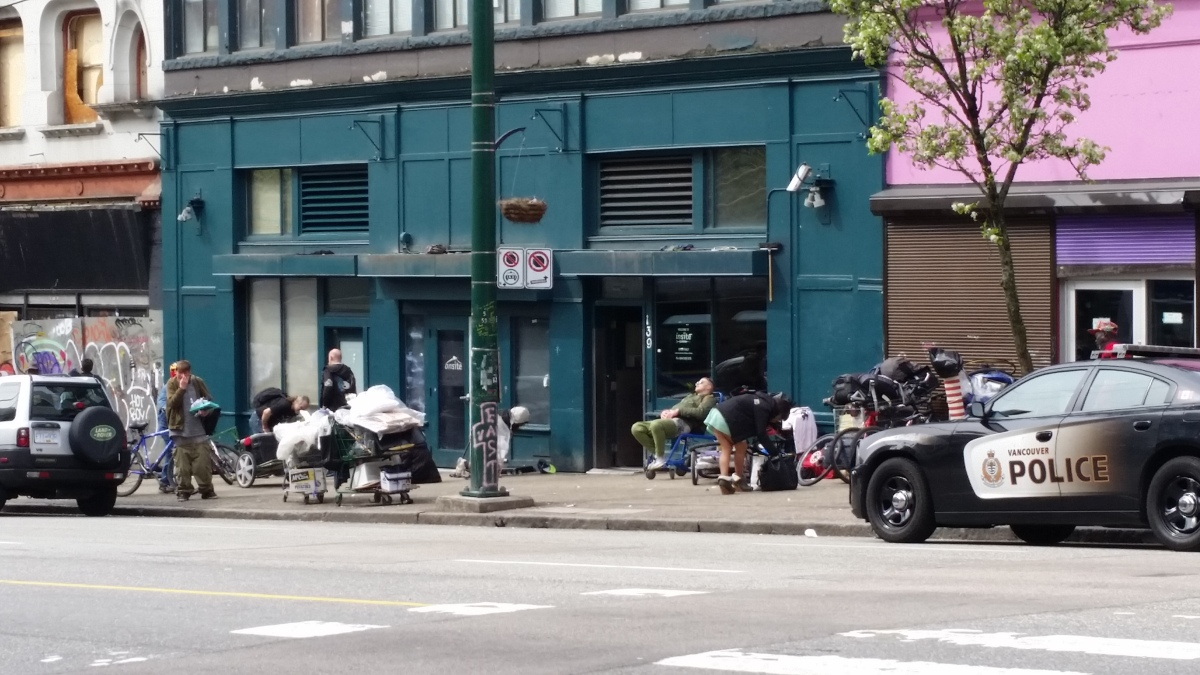 Rachmaninoff and the Downtown Eastside, Vancouver, British Columbia