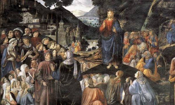 Cosima Roselli, Sermon on the Mount (1481-2)