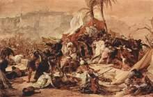 Francesco Hayez: Der siebente Kreuzzug gegen Jerusalem (1838-1850)