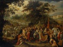 Frans Francken II: Meeting of Esau and Jacob (1620s). Courtesy: State Hermitage Museum, St. Petersburg.