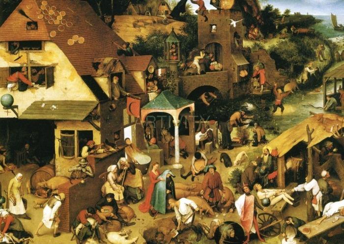 Pieter Bruegel the Elder : The Triumph of Death (c. 1562)